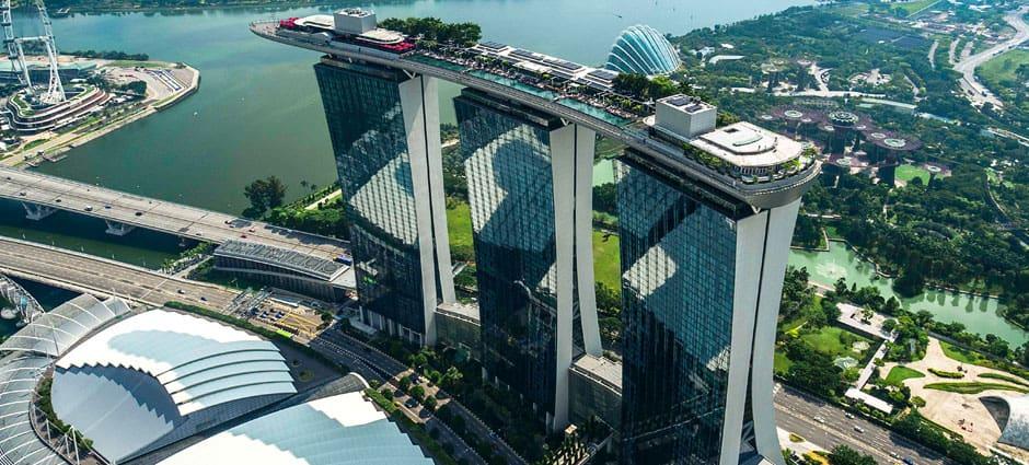 Vé tham quan Marina Bay Sands