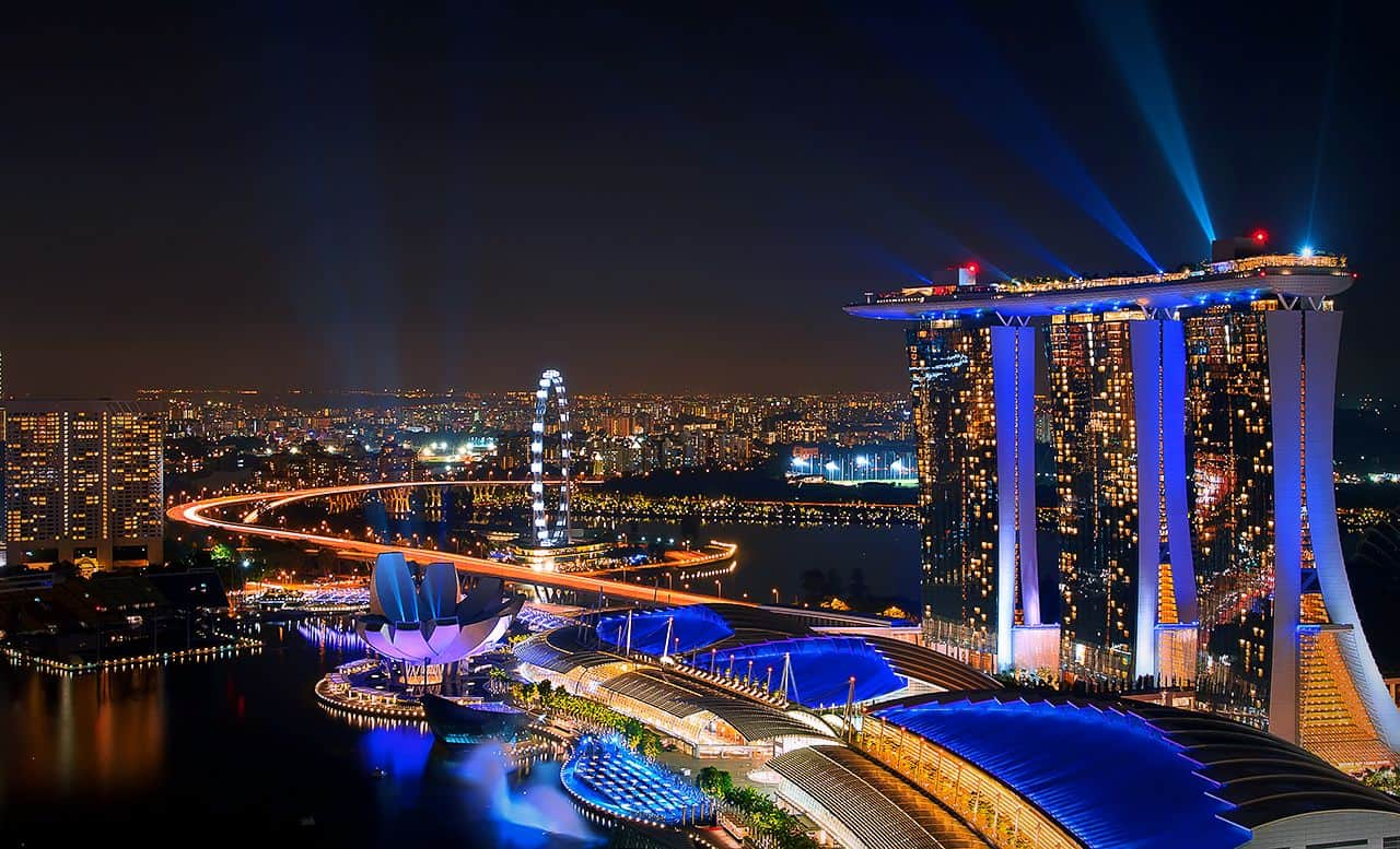 Đi Marina Bay Sands