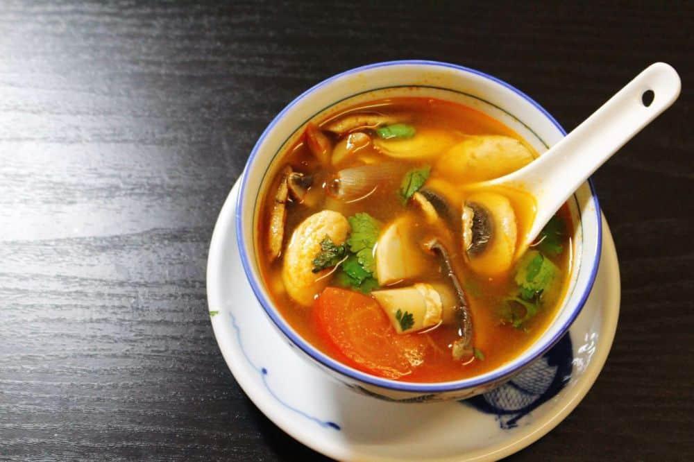 đồ ăn đường phố thái lan