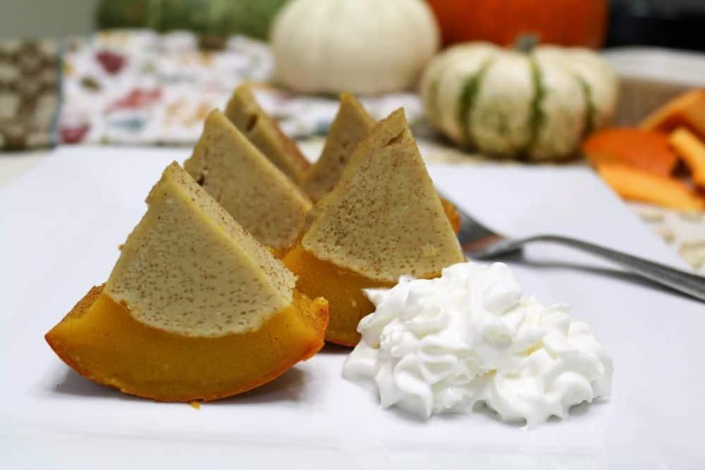 Sang Kaya Fug Tong – Bánh bí ngô