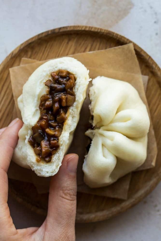 Char Sie Bun (bánh bao) bangkok