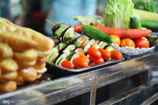 món ăn vặt chợ đêm Phú Quốc