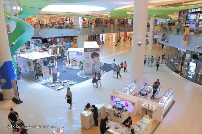 Mua sắm ở vivo city Singapore