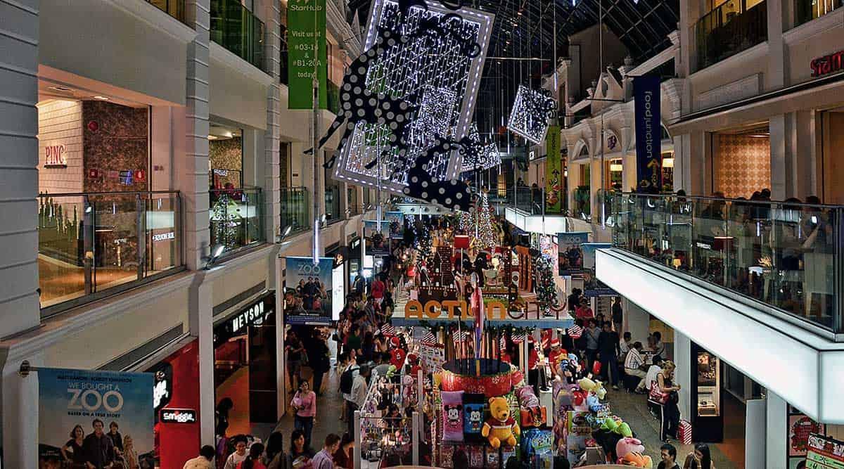Thiên đường mua sắm ở Singapore
