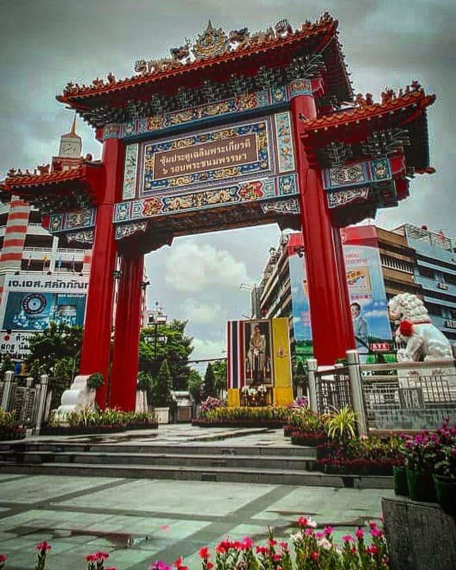 Cổng Trung Hoa – China Gate