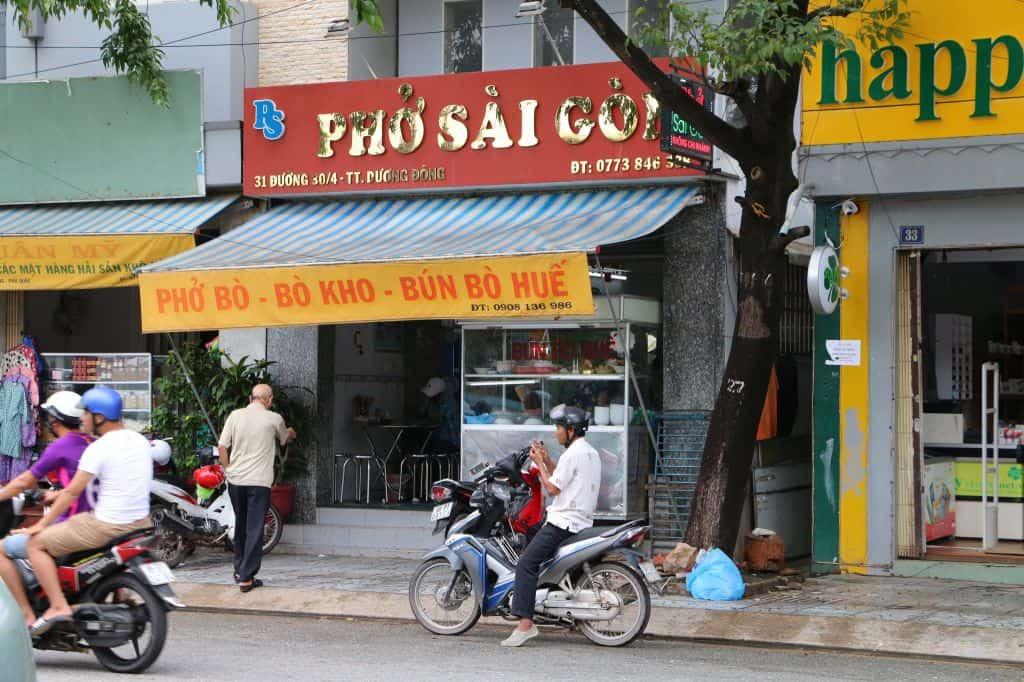 Phở Sài Gòn ngon tại Phú Quốc