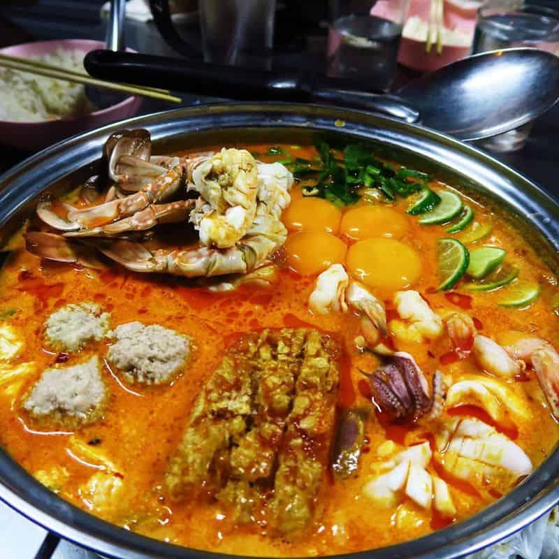 Quán ăn Jeh O Chula Bangkok