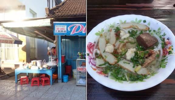 quán ăn sáng ở đường 30/4 Phú Quốc