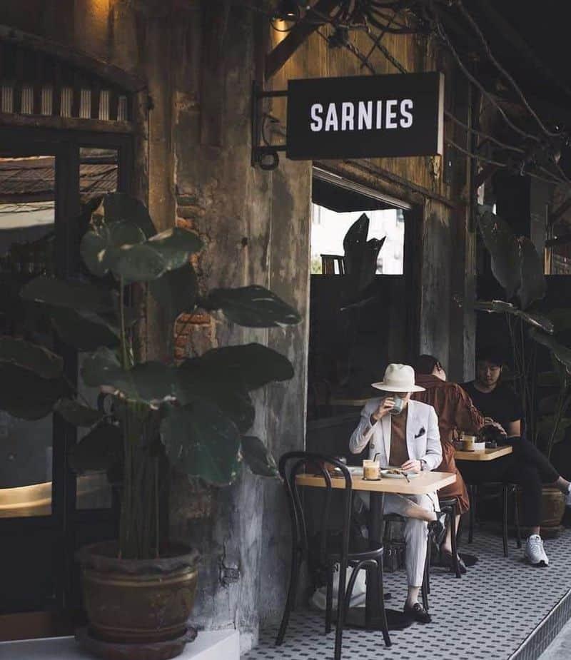 những quán cà phê đẹp ở bangkok