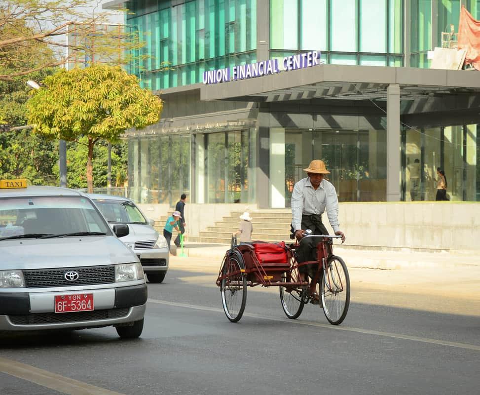 Rickshaw là một phương tiện giống như xích lô
