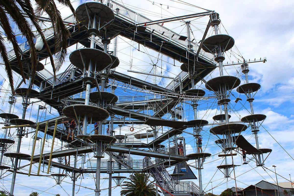 Mô hình trò chơi trong Mega Adventure Park