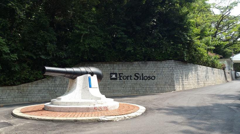 Pháo đài Siloso ở Singapore