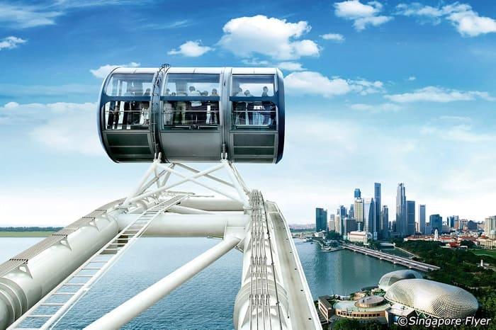 vòng quay Singapore Flyer