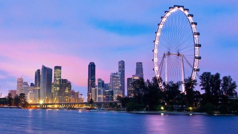 Chiêm ngưỡng toàn cảnh thành phố Singapore xinh đẹp