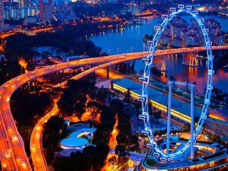 Ngắm cảnh đêm thành phố