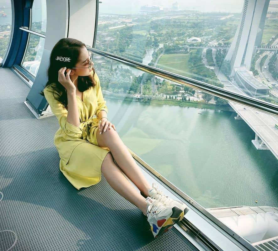 vòng quay Singapore Flyer ở đâu