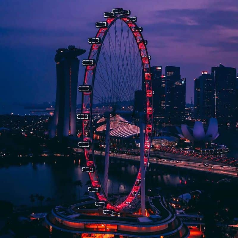 đi Singapore Flyer