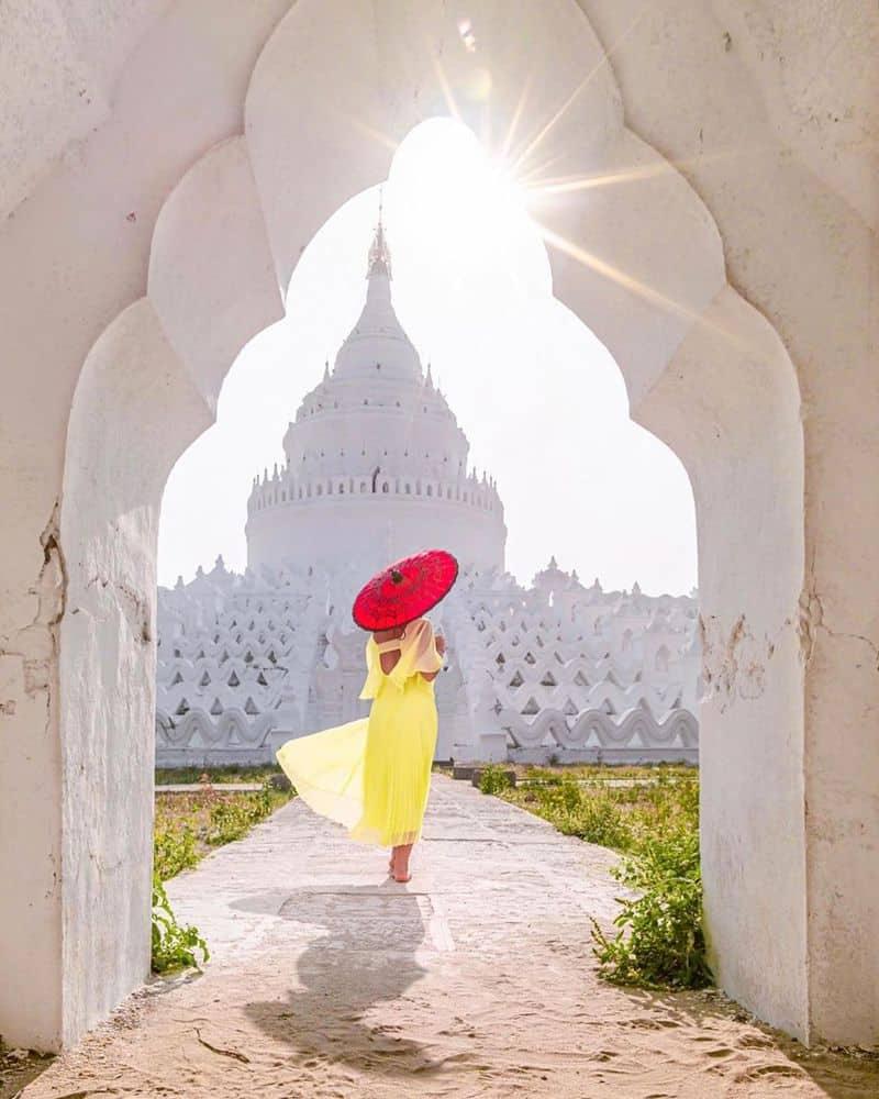 Trang phục du lịch Myanmar