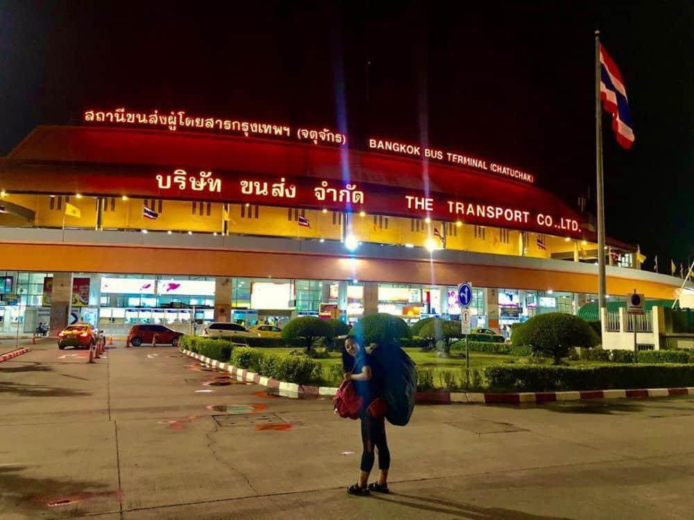 giá vé xe bus từ bangkok đi chiang mai