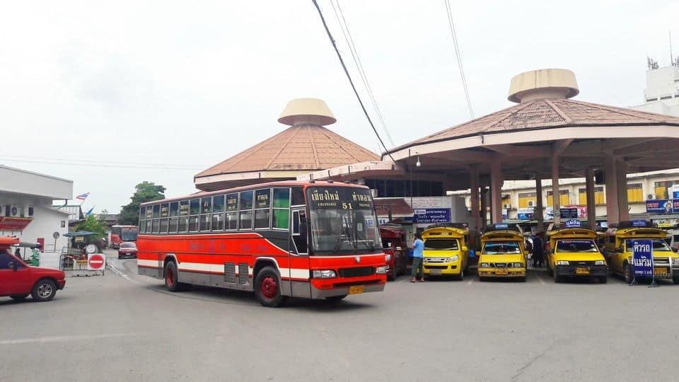 đi xe bus từ bangkok đến chiang mai