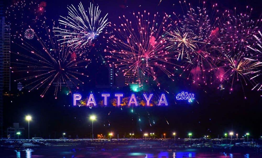 thành phố pattaya về đêm