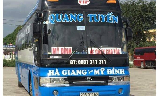 Hà Giang cách Hà Nội bao xa