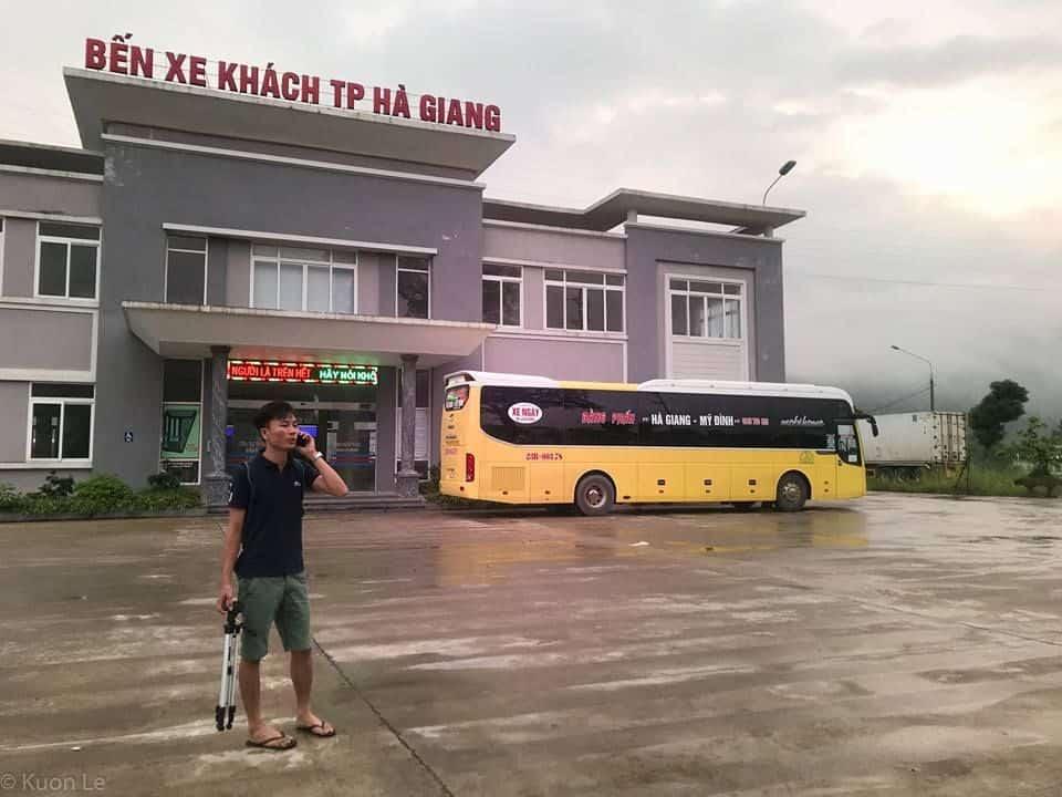 Xe khách đi Hà Nội