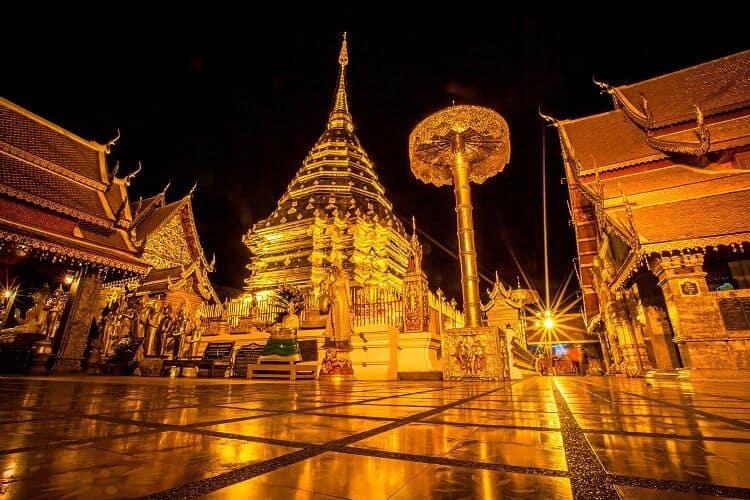 Kinh Nghiệm Đi Chùa Phrathat Doi Suthep Đẹp Nhất Thái Lan