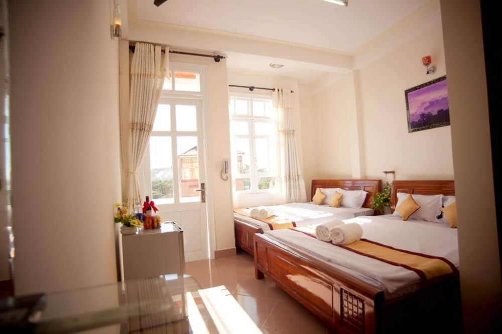 Khách sạn gần bến xe Đà Lạt - Khách sạn Happy Day