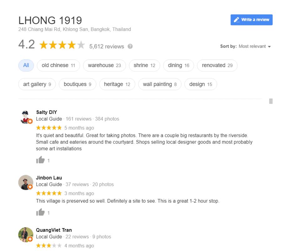 review lhong 1919