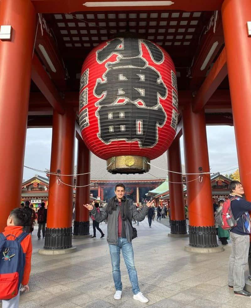 Chùa Sensoji chùa cổ nhất của Nhật Bản