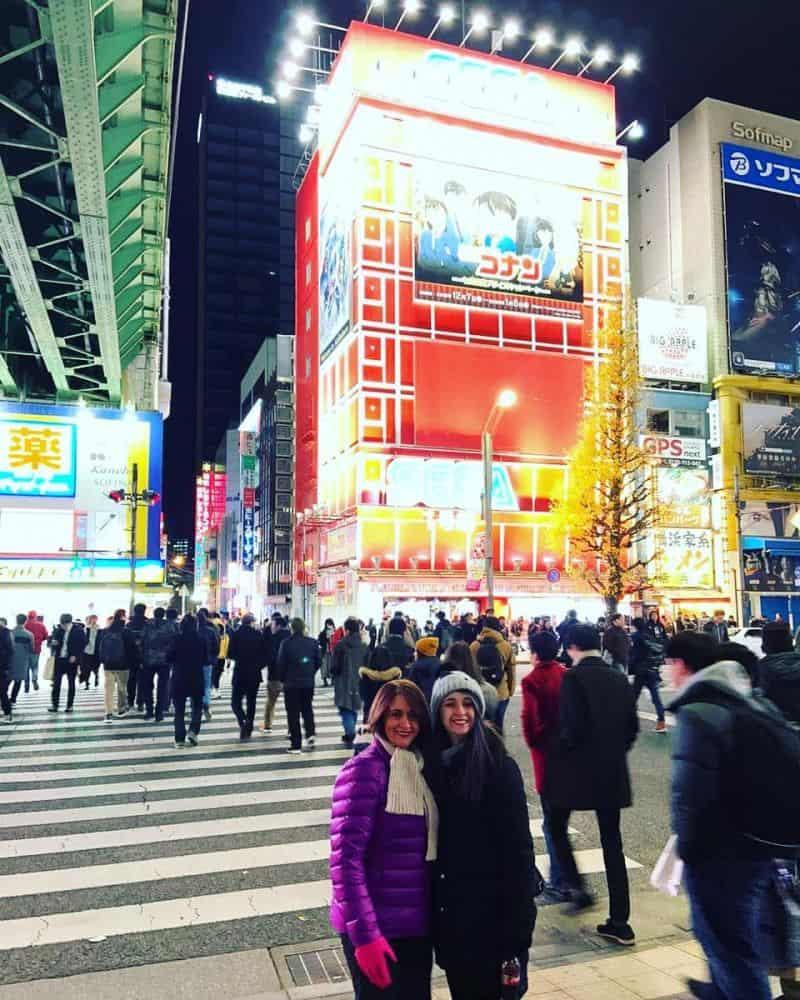 Một bức hình của du khách chụp tại Akihabara