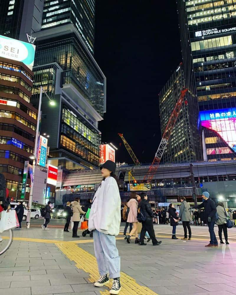 Phía trước Shibuya Hikaria