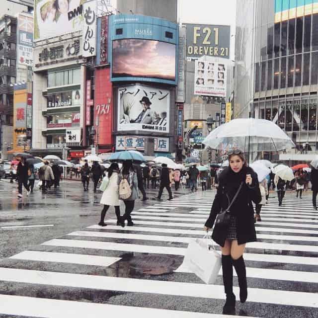 Một trung tâm thương mại trong Shibuya
