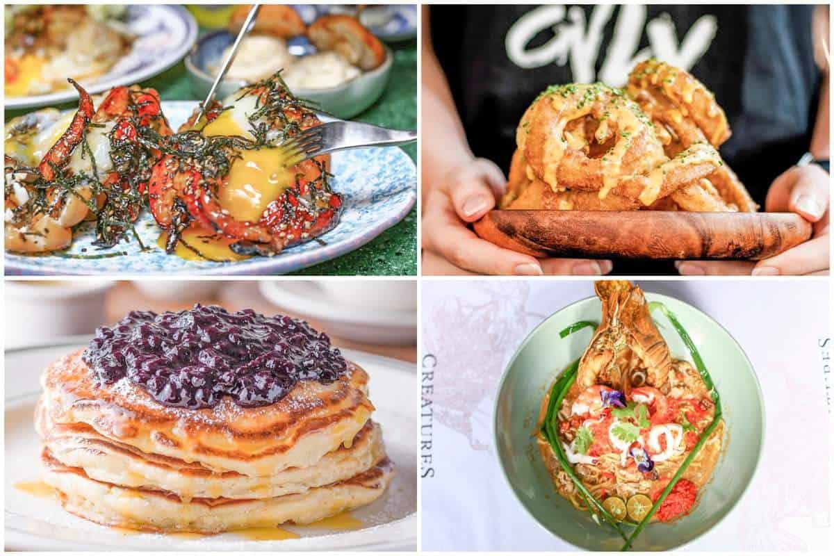 Ăn sáng ở Singapore