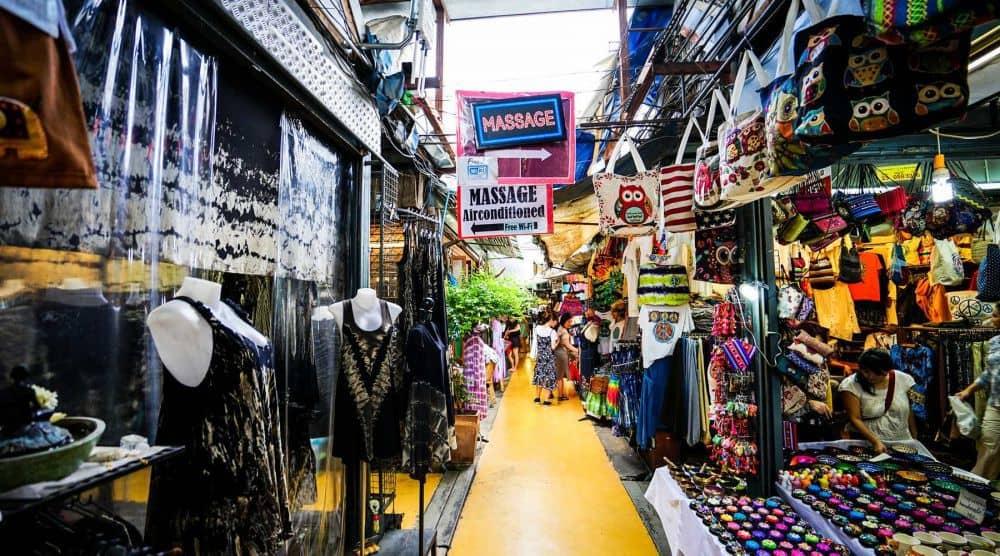 khu chợ cuối tuần Chatuchak