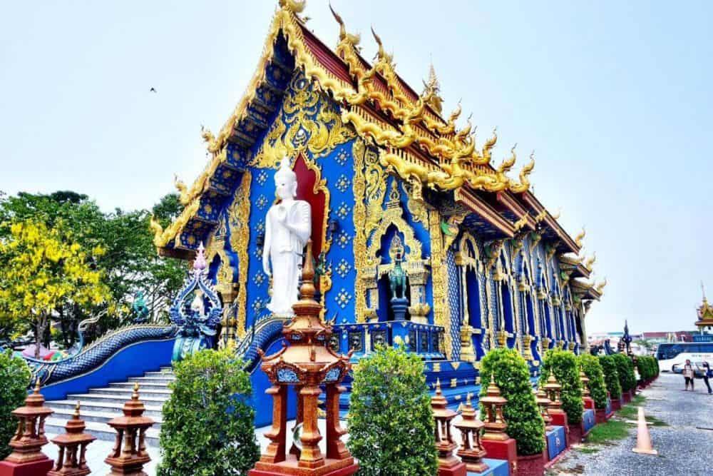 Chùa Xanh - Blue Temple