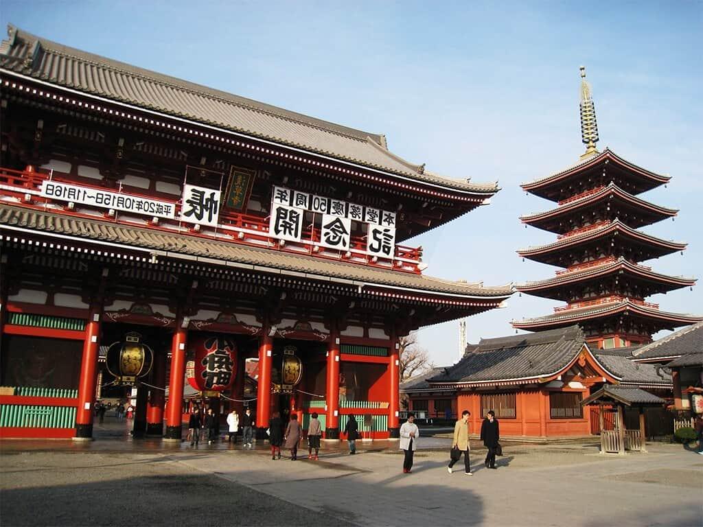 đền cổ Asakusa