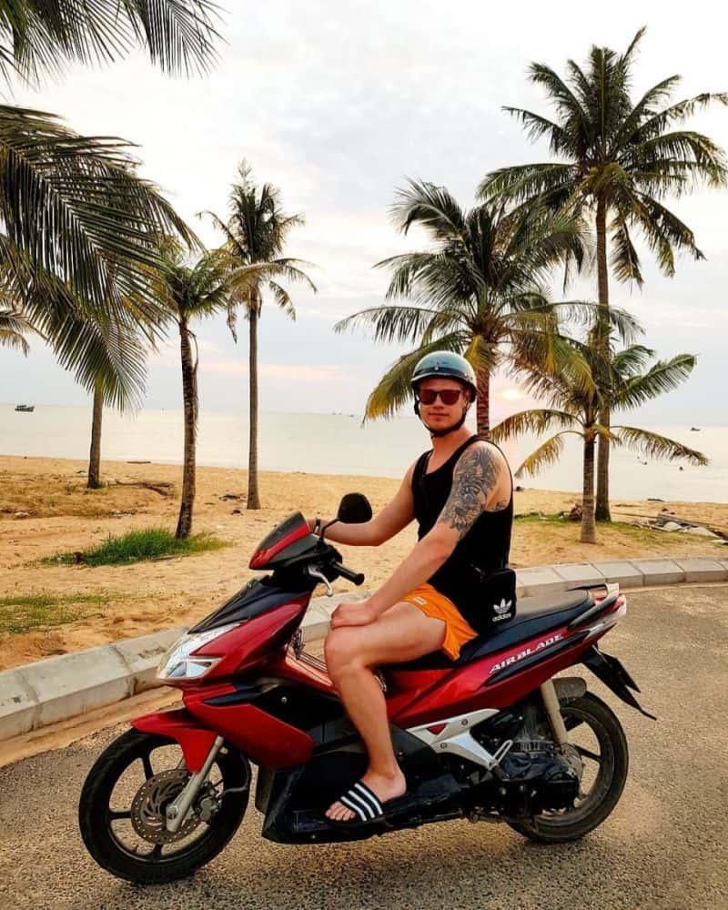 đi xe máy ở Phú Quốc