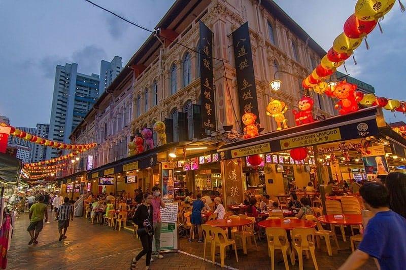 đi du lịch singapore nên ở khu nào