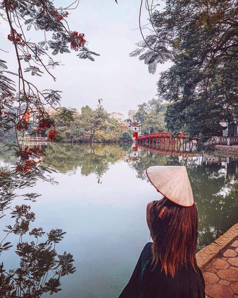 Hà Nội địa điểm du lịch đẹp vào mùa thu