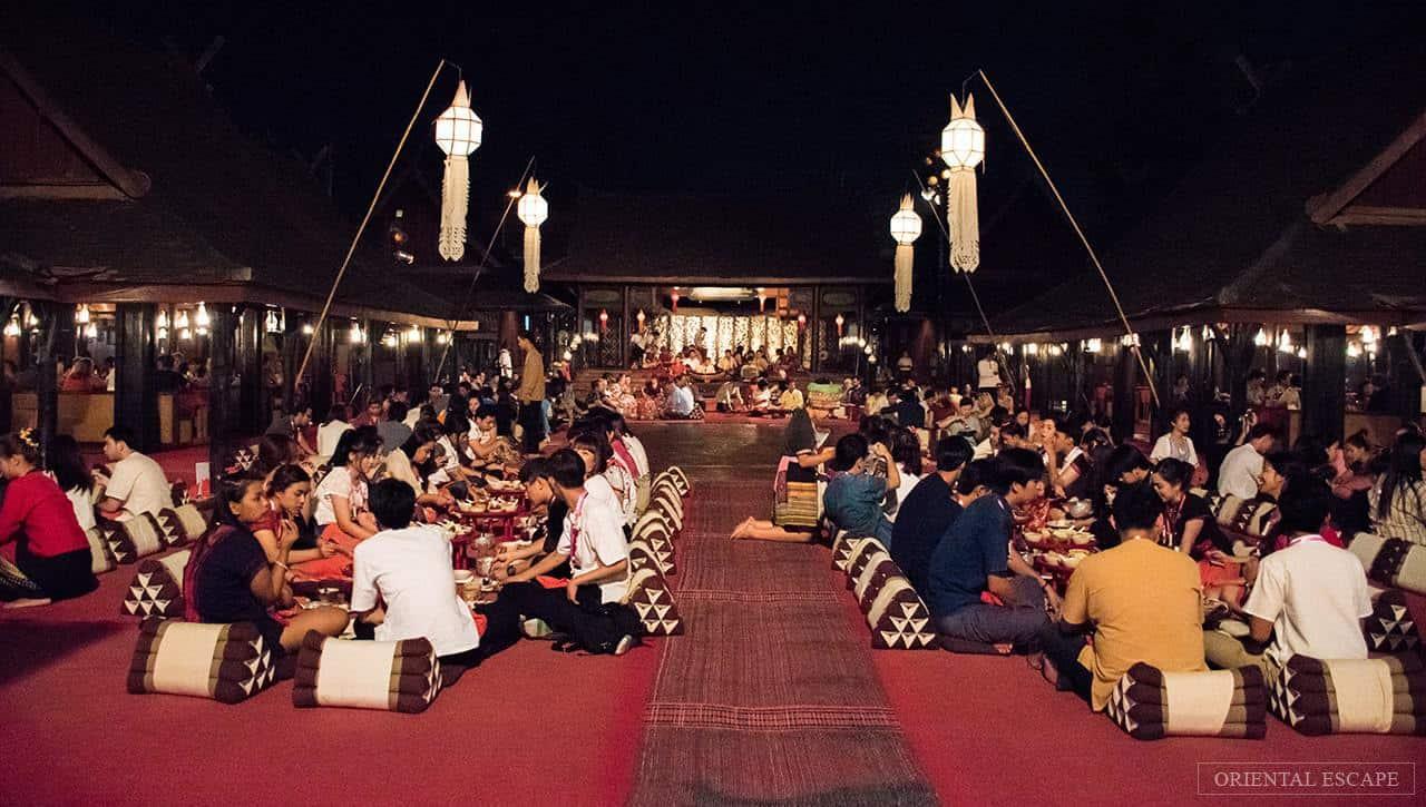 Thưởng thức ẩm thực đặc trưng miền Bắc Thái theo phong cách Khantoke