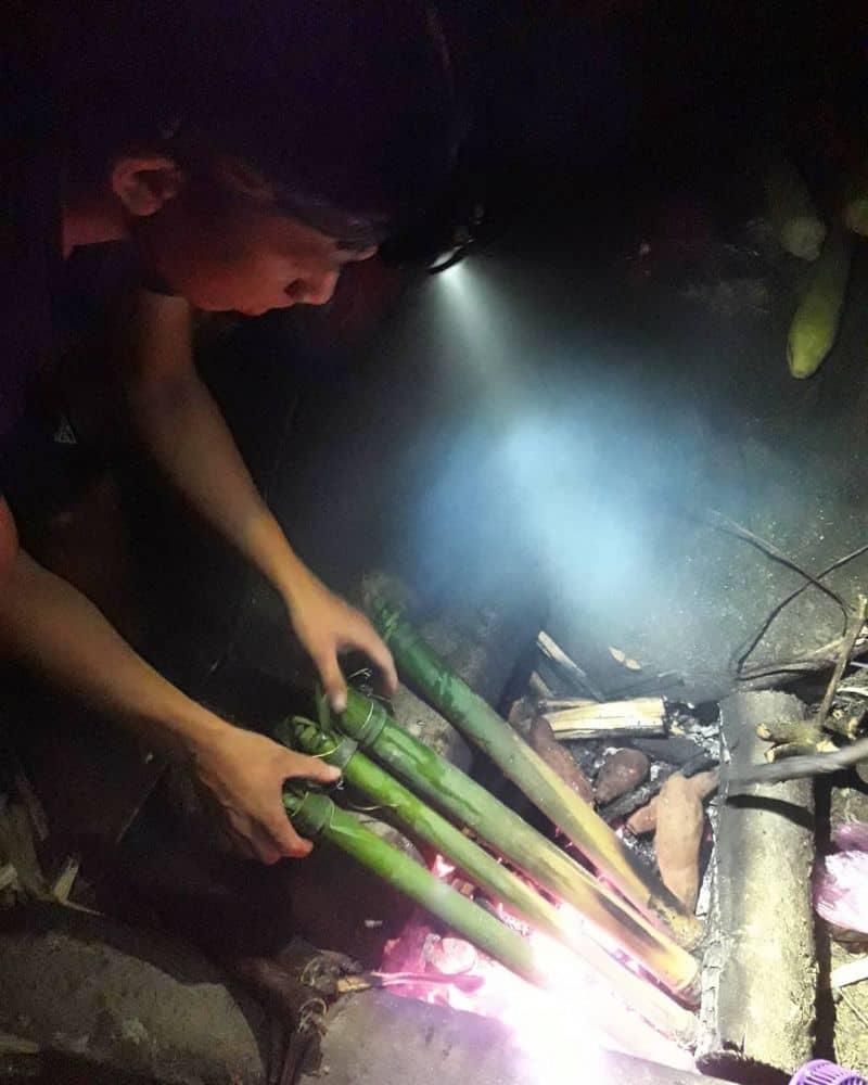 Cơm lam Bắc Mê thơm ngon tại Hà Giang