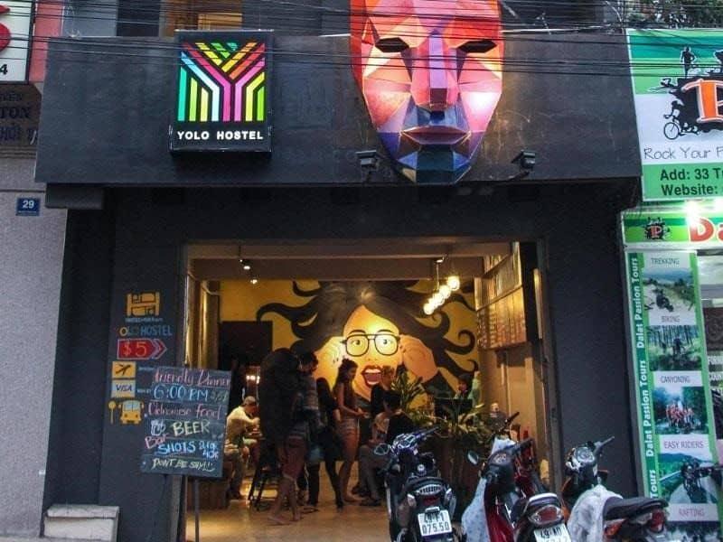 Yolo Hostel & Bar - Homestay Đà Lạt