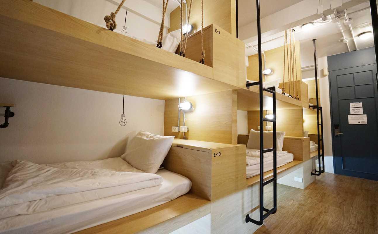 các hostel đẹp ở bangkok