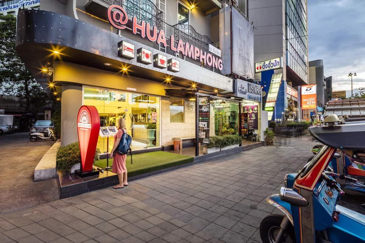 hostel đẹp ở bangkok