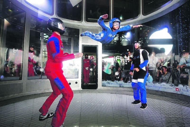Nhảy Dù Trong Nhà iFly Ở Singapore