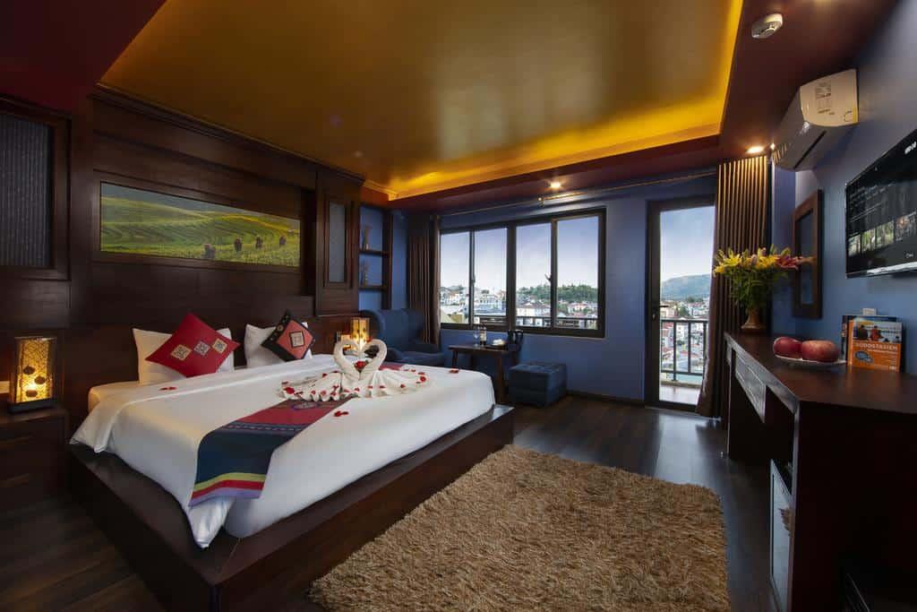 khách sạn 3 sao saparis sapa