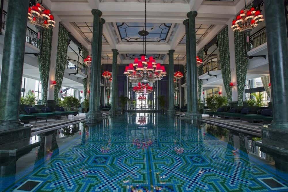 Thiết kế của khách sạn De La Coupole Sapa