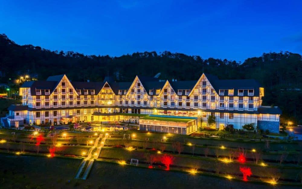 khách sạn Belresort Tuyen Lam Dalat gần chợ đà lạt